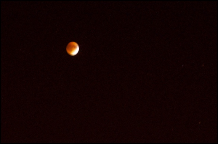 Supermoon Eclipse, 27th September 2015